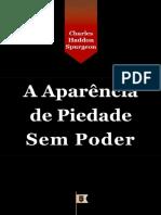 C. H. Spurgeon - A aparência de piedade, sem poder - Copia.pdf