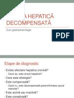 Curs 11_ciroza Hepatica Decompensata_complicatii