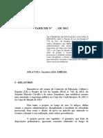 Parecer Da Comissao - PLS 728.2011