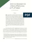 O Tratamento Da Oralidade Nos PCN De Lingua Portuguesa