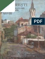 28 Bucuresti Materiale de Istorie Si Muzeografie XXVIII 2014