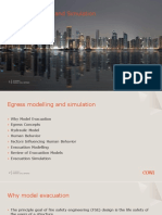 Egress Modelling and Simulation