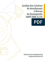 CBIC - Analise Criterios de Atendimento Norma_desempenho 15.575