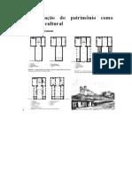 A Preservação Do Patrimônio Como Construção Cultural