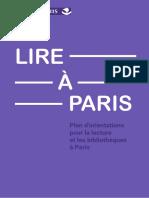 Le Plan Lire à Paris