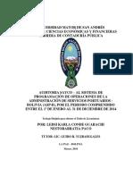 Auditoria Sayco_al Sistema de Programación de Operaciones (Nestor Arratia Paco y Karla Conde Guarachi)