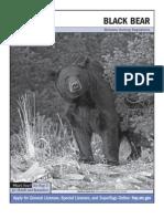Montana 2010 Black Bear Regulations