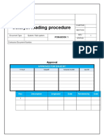 Catalyst Loading Procedure