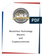 The Foundation Report 2018 - Blockchain Technology Bitcoins and Cryptocurrencies