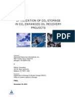 1006 Optimization of Co2 Storage in Co2 Enhanced Oil Re