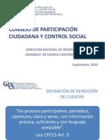 PRESENTACION RC - 09 - 2010 CPCCS
