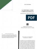 La Historia Como Campo de Batalla Enzao Traverso PDF Split Merge