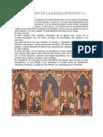 Organización de La Iglesia Durante La Edad Media