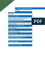 Ejemplo de Matriz de Oepracionalizacion de Antecedentes. Eeffs y Toma de Decisiones