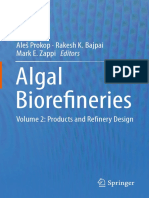 Algal Biorefineries Volume 2 Products and Refinery Design