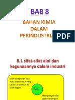 Bab 8- Bahan Kimia Dalam Industri
