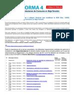 Anteproyecto de Reglamento y Pliegos Técnicos Que Modifican La NCH Elec 4-2003