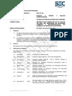Pliego Técnico Normativo-RTIC N06-Puesta a Tierra y Enlace Equipotencial