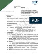 Pliego Técnico Normativo-RTIC N07-Instalaciones de Equipos