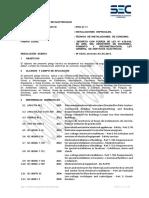 Pliego Técnico Normativo-RTIC N11-Instalaciones Especiales