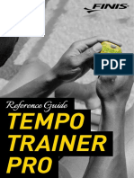 Tempo Trainer Pro Reference Guide