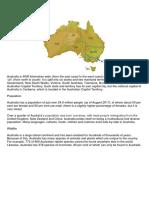 Australia Basics