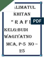 Walimatul Khitan