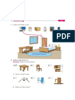 Englishtest House Prepositions of Place