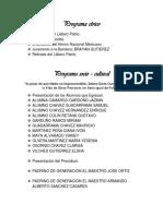 Programa de Clausura 2013-2013