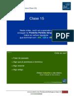 Resumen Clase 15 - Tus Clases de Portugues