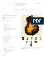 Eastman AR810ce Archtop Electric Guitar Sunburst - Huber Breese Music