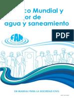 El Banco Mundial y El Sector de Agua y Saneamiento