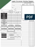 Daemon - Ficha de Personagem - Universal (v. Thiago Flores) - Biblioteca Élfica.pdf