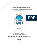 Ruang Lingkup Ilmu Pendidikan Islam