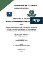 Sistemas Agroforestales Como Alternativa a La Pérdida de Especies Forestales Maderables en Los Bosques Del Eje Carretero El Muyo - Campanquis en La Región Amazonas