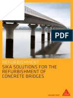 Sika Solutions for the Refurbishment of Bridges UK Spread