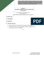 Agenda comision