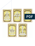 Thebes Excavation Summary Cards (White Circles)
