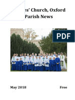 St Giles, Oxford - Parish News - May 2018