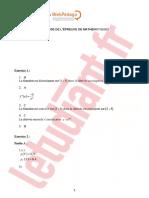 bac ES Pondichéry 2018 Mathématiques
