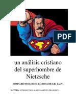 Un Análisis Cristiano Del Superhombre de Nietzsche