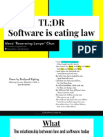 TechLawFest 2018 – Software is Eating Law