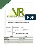 VR-PRV-PR-002 Procedimiento de Izaje de Carga