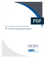February 2016 - Postoperative Shoulder Spanish