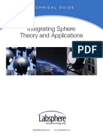 Integrating Sphere Theory Apps Tech Guide