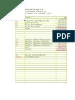 Caso Practico de Auditoria Empresa La Practica s.a. Activo Fijo