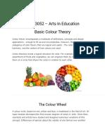 Basic Colour Theory