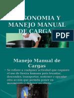 Ergonomia, Manejo manual de cargas.ppt