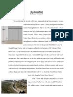 the border wall revision