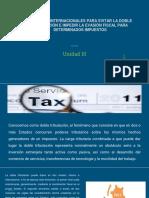Tratados Internacionales Para Evitar La Doble Tributación e Impedir La Evasión Fiscal Para Determinados Impuestos